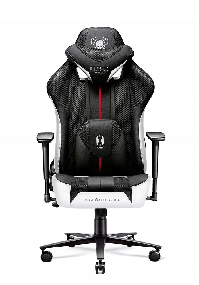 Игровое кресло из ткани DIABLO X-PLAYER Высота мебели 131 см