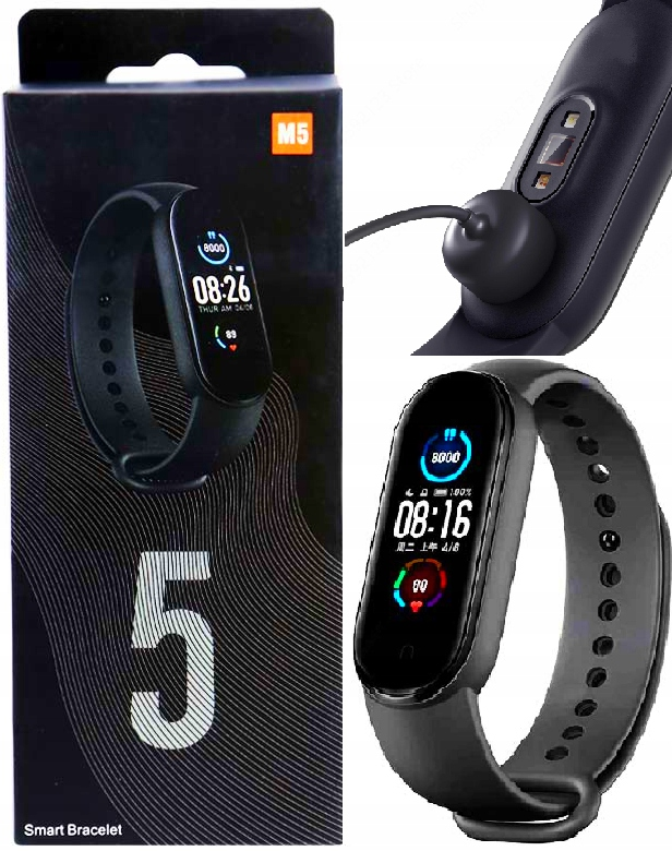 SMARTBAND SPORT BAND SMARTWATCH WATCH M5