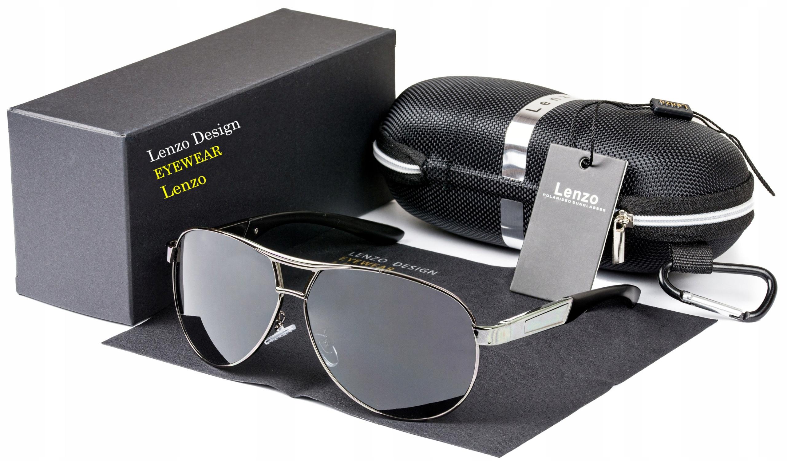 Okulary Przeciwsloneczne Meskie 2019 Aviator Filtr 8110163659 Allegro Pl