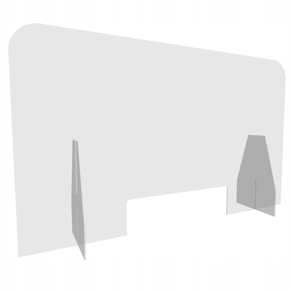 Osłona z PLEXI PLEKSA szyba ochronna 100x60 cm
