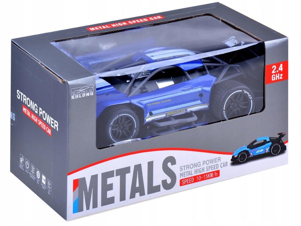Szybkie METALOWE autko zdalnie sterowane RC0518 Materiał Guma Metal Plastik