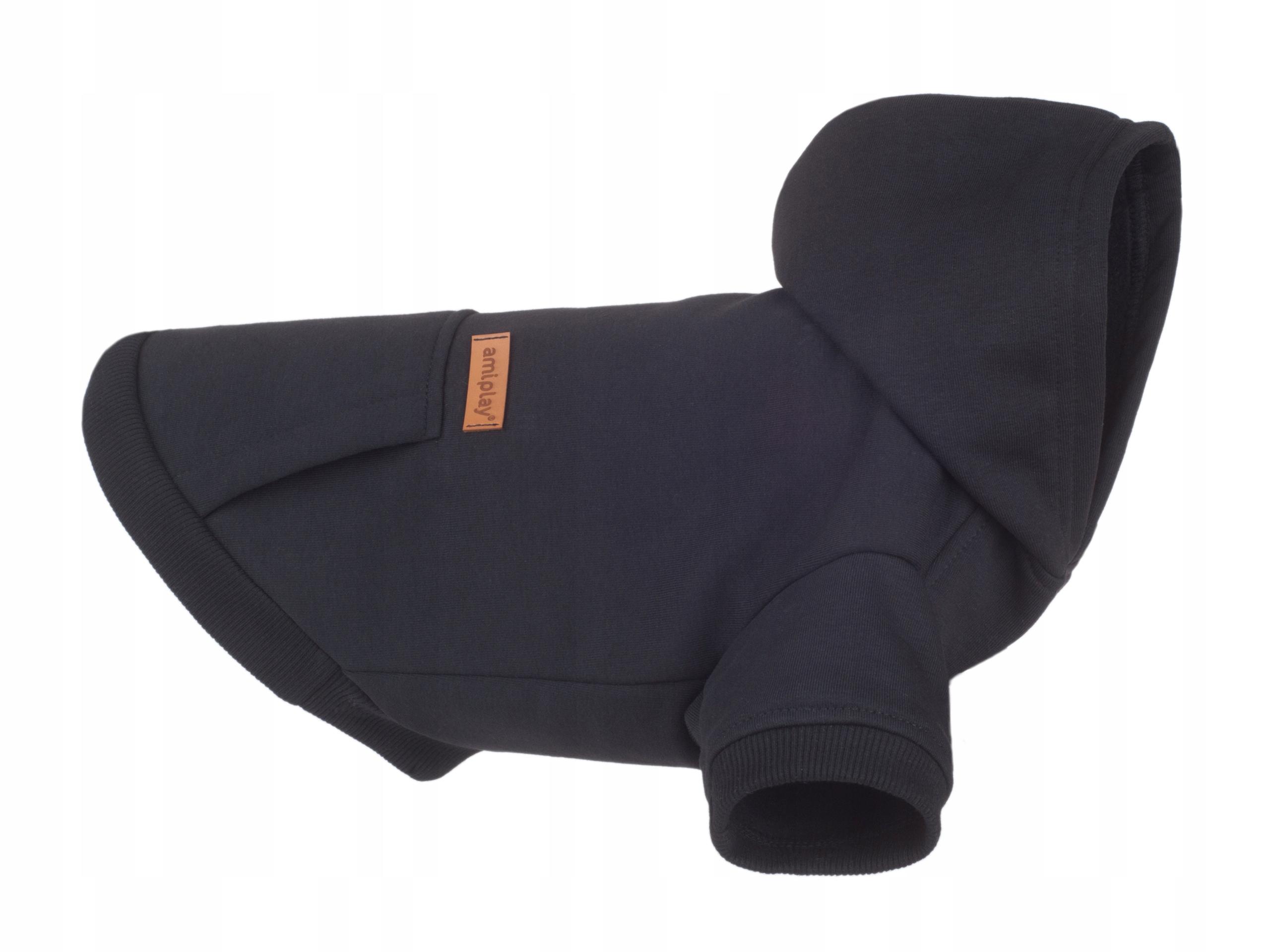 Толстовка с капюшоном amiplay Texas 30 см, черная