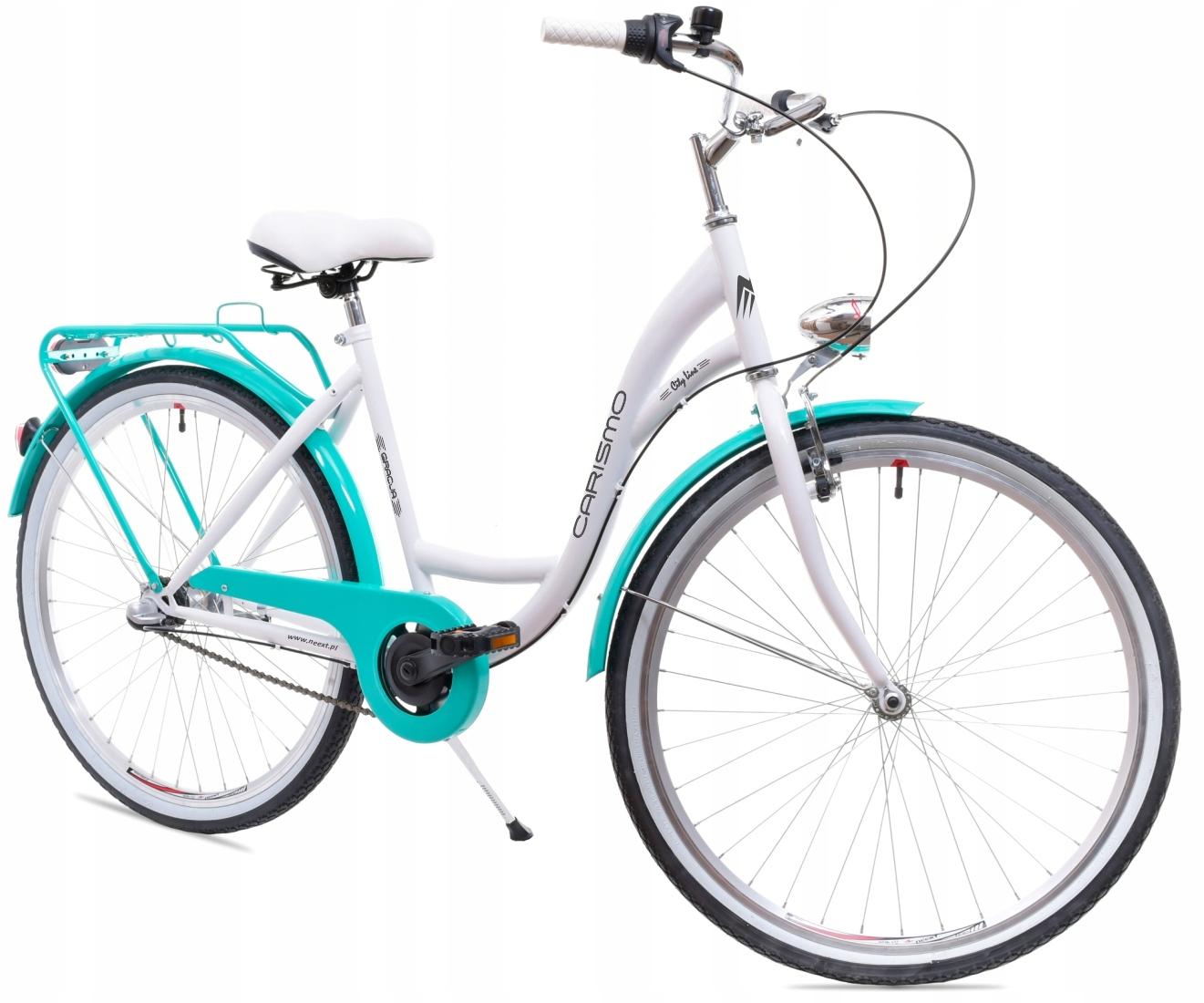 Dámsky mestský bicykel GRACJA 26 Shimano 3b Dutchman Veľkosť rámu 17,5 palca