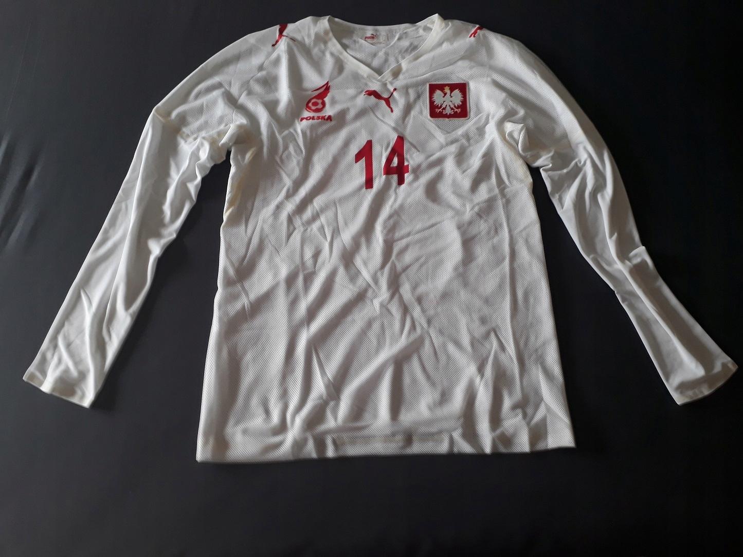 Nové tričko POLSKA retro 2008 LEWANDOWSKI 20/21