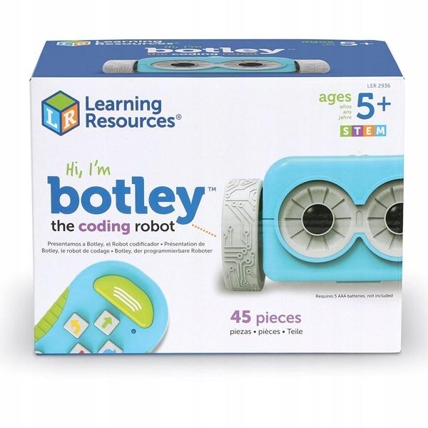Programovanie učenia sa robotom Botleyom, kódovanie 5+