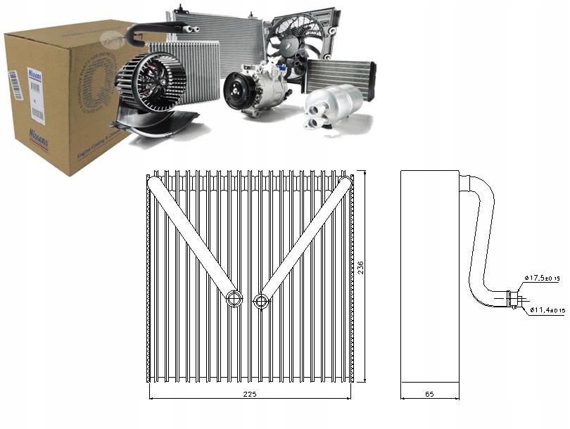 испаритель кондиционирования воздуха audi a1 14 tdi 8x1 8xk 8