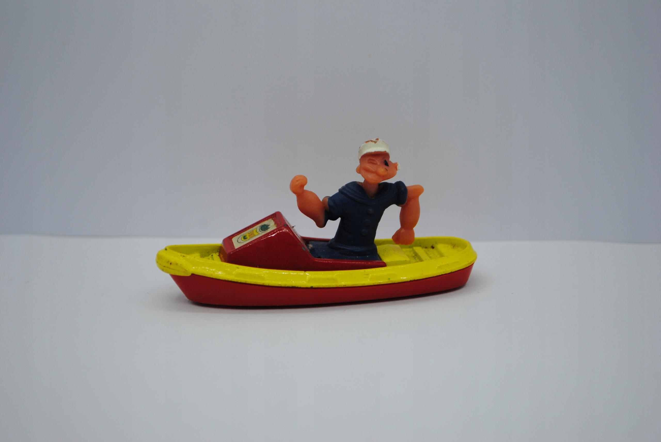 Лодка Corgi Junior Popeye Vintage 1970