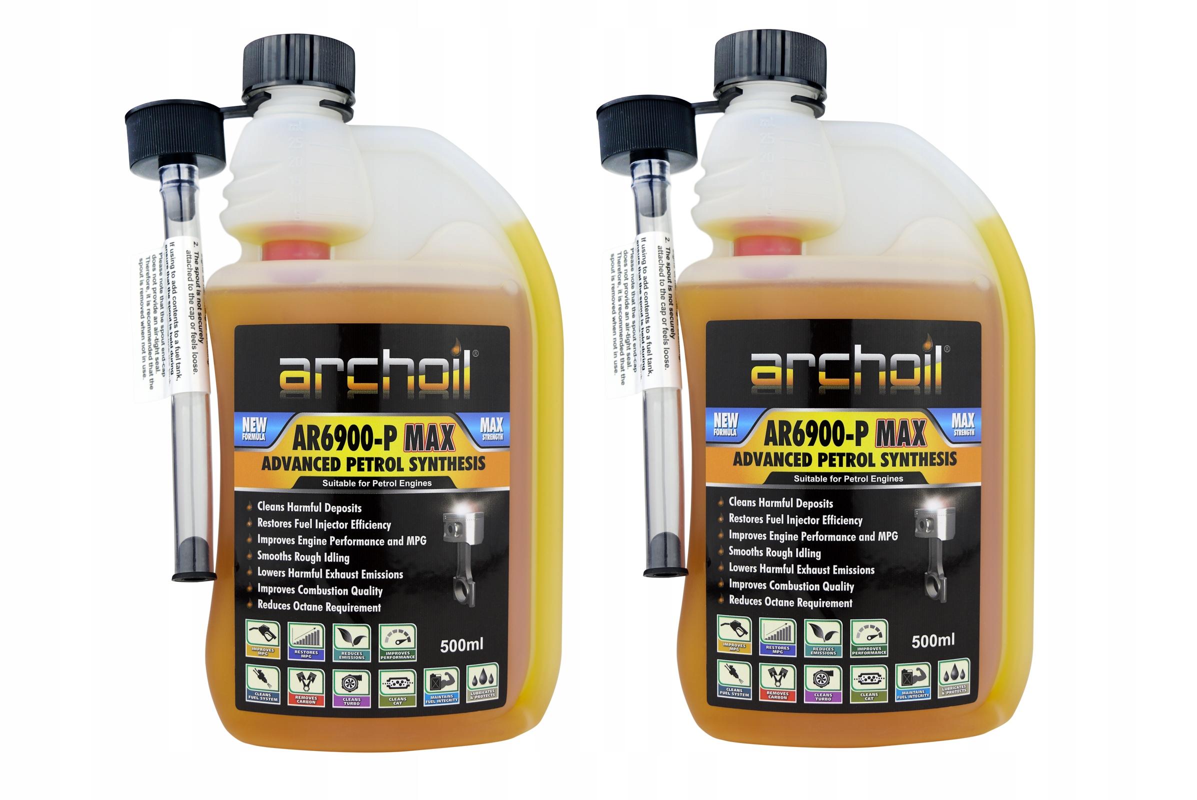 Archoil AR 6900 P MAX присадка к бензину 1000 мл