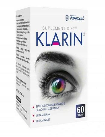 Klarin 60 tabletek Dobry Wzrok