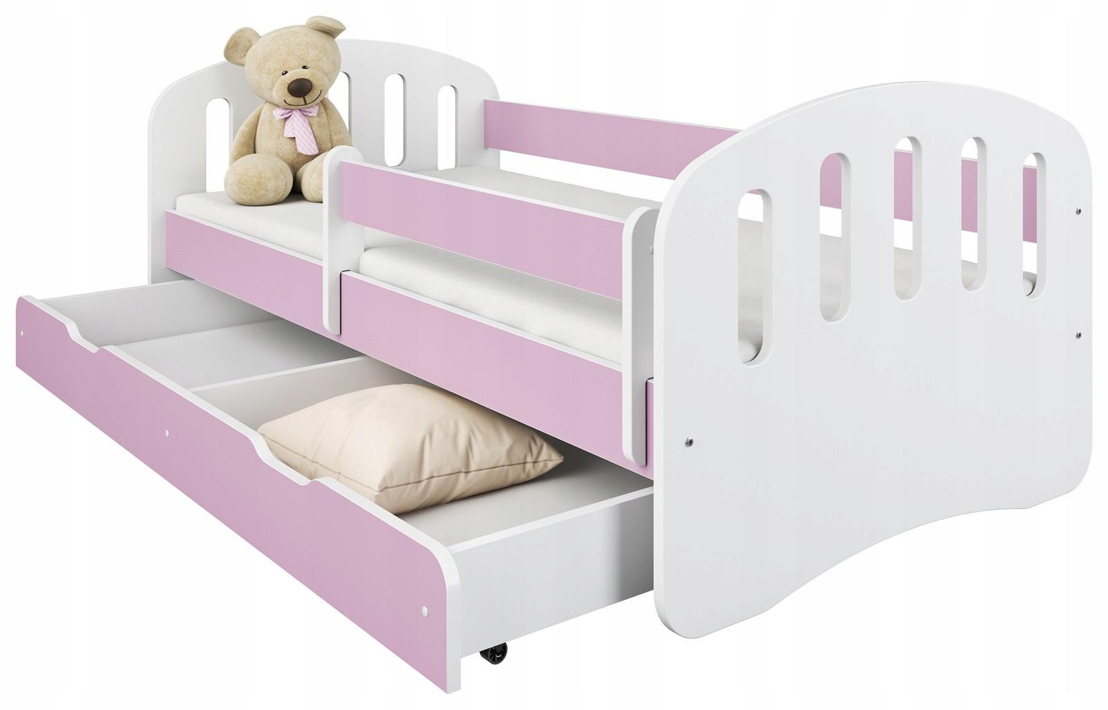 Detská posteľ 160x80 box a matrace RADOSŤ