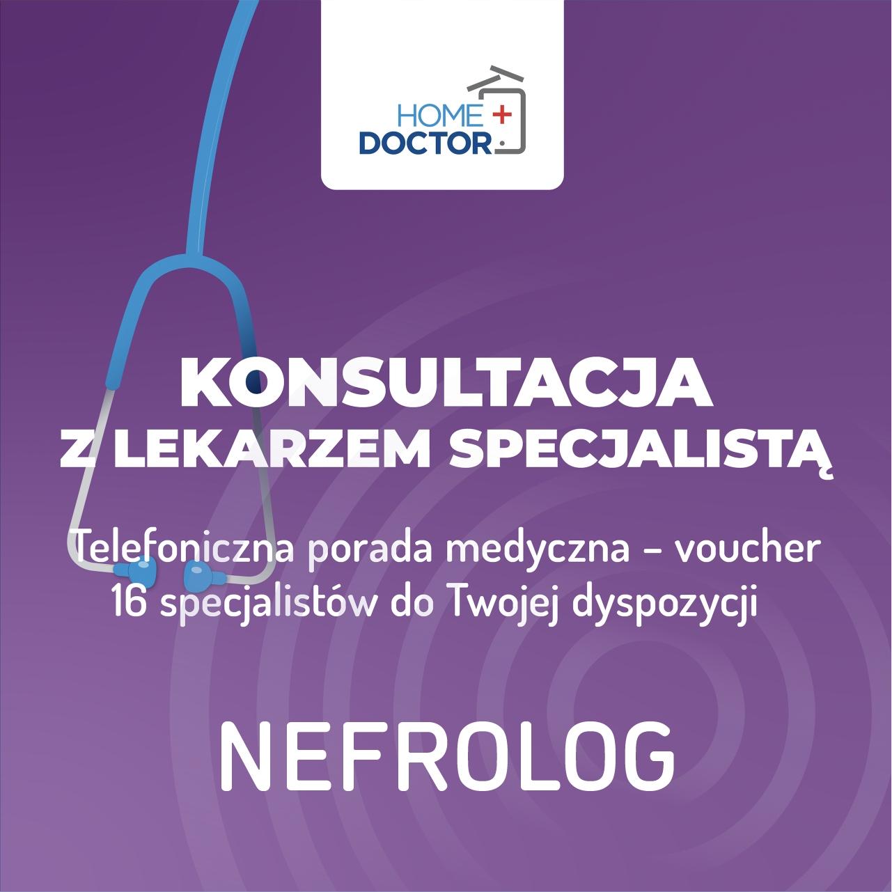 TeleKonzultácia s lekárom nefróga - poukážka