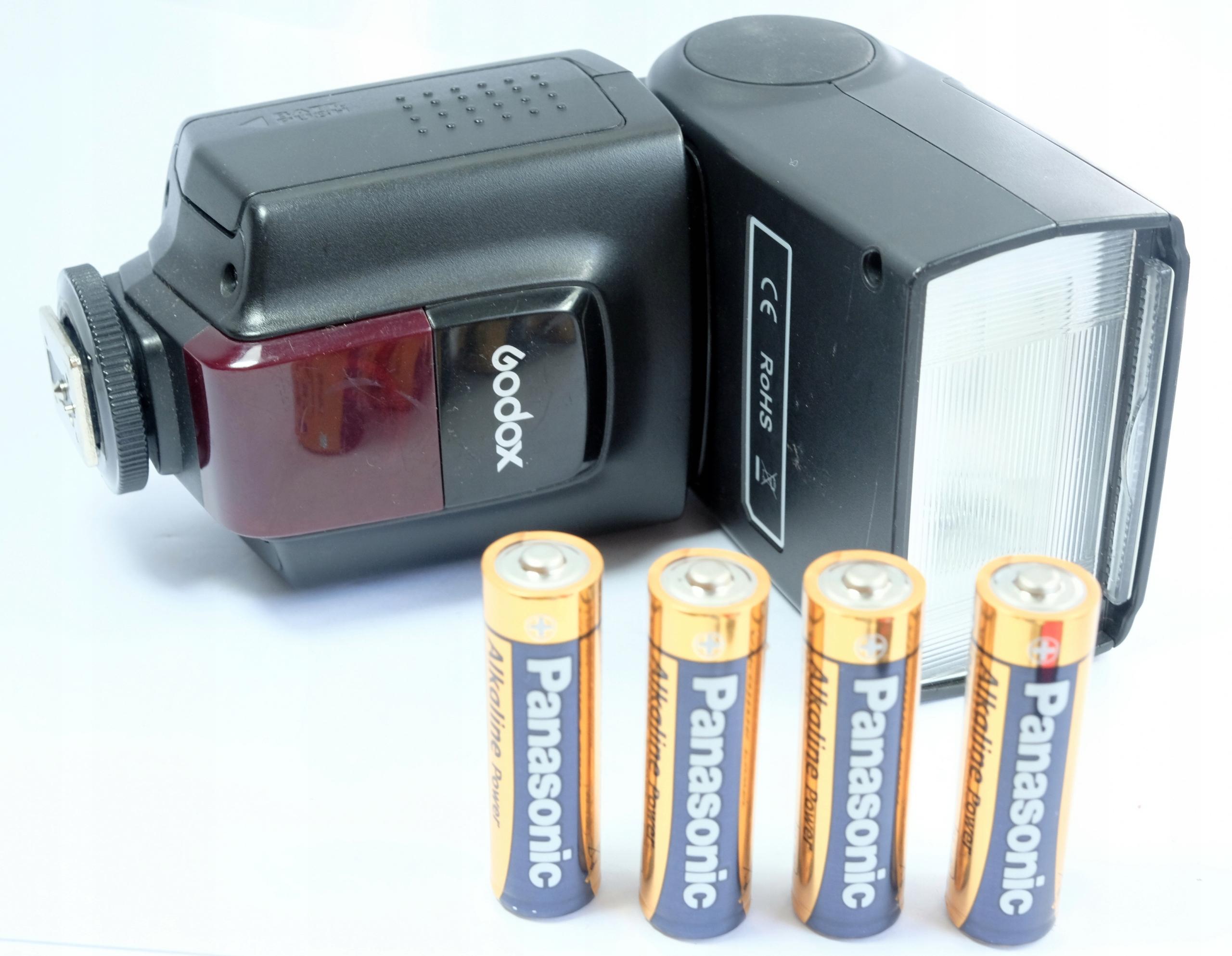 lampa błyskowa GODOX TT520 hot shoe Nikon Canon