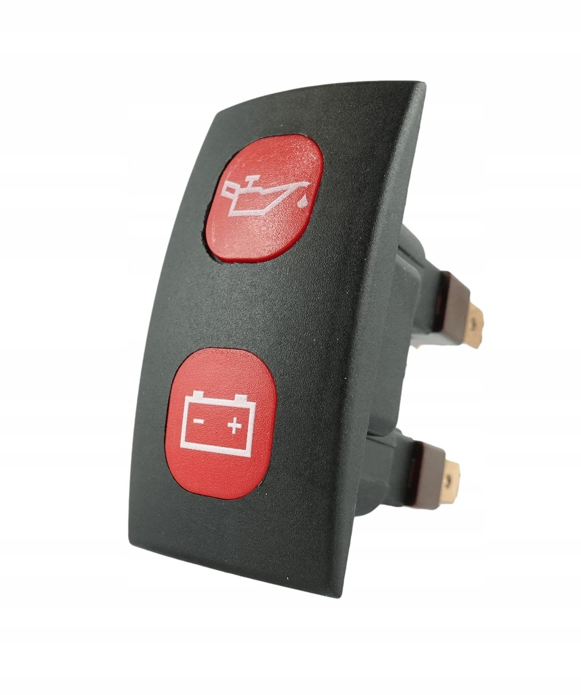 Индикатор зарядки и давления масла + 2x 12V LED