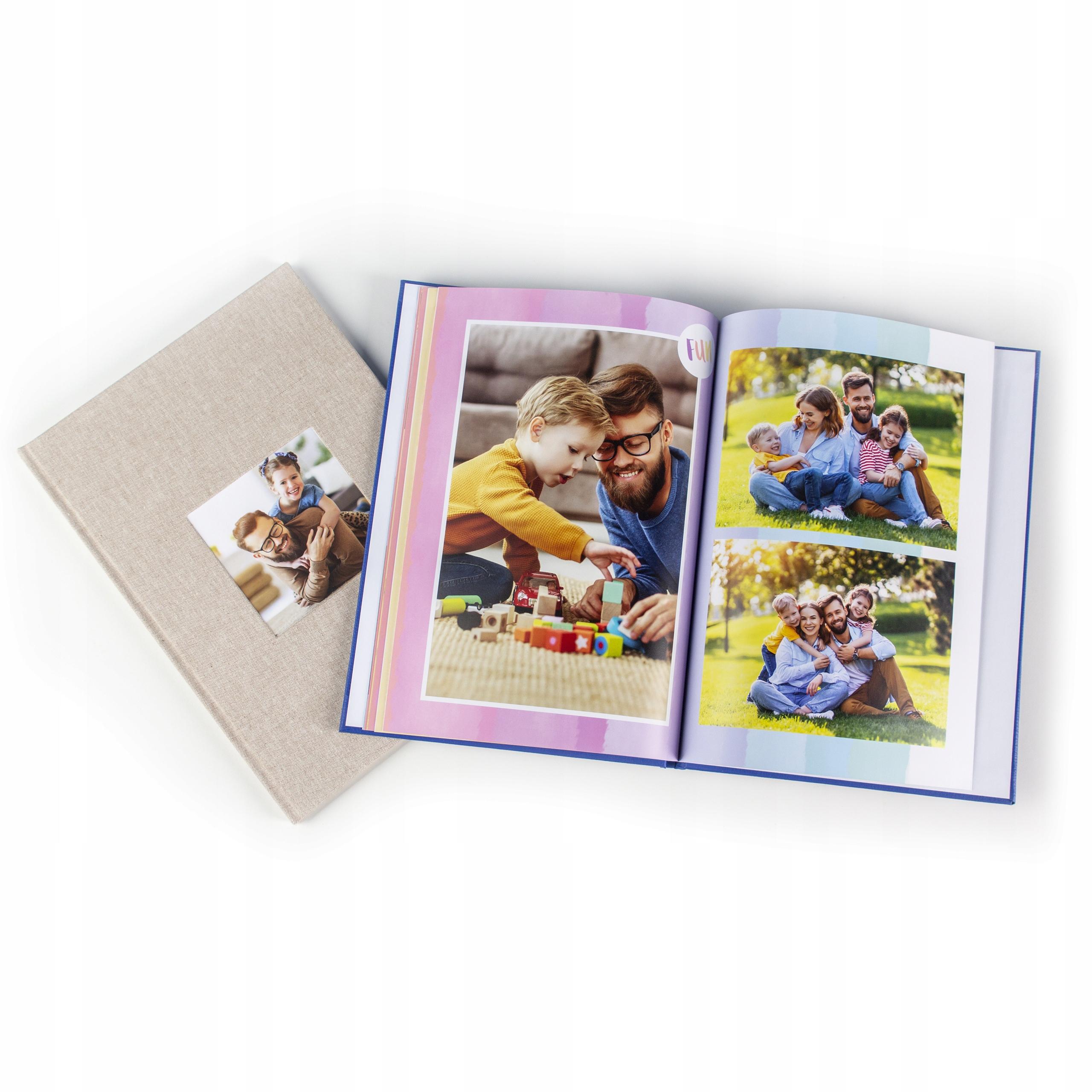 Foto-książka Lux, Foto-album - A4 pion 120 stron