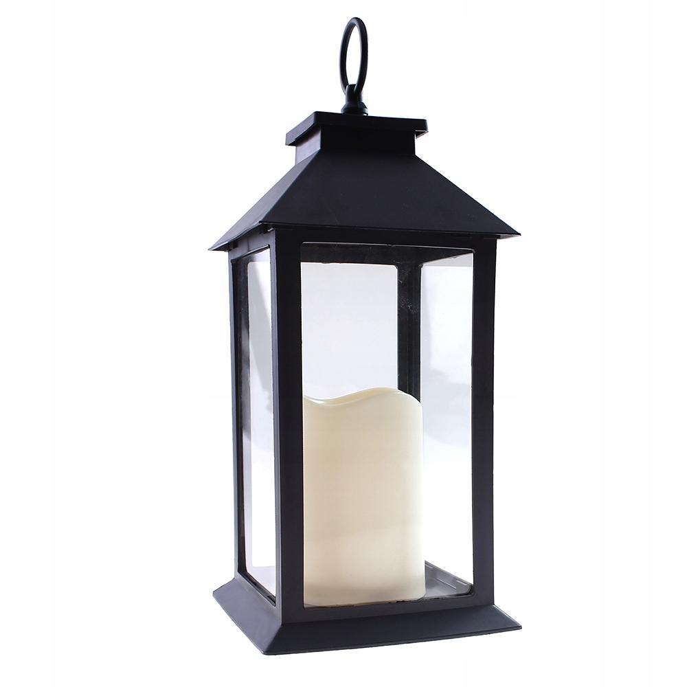 Lampion latarnia LED na zewnątrz ogrodowy