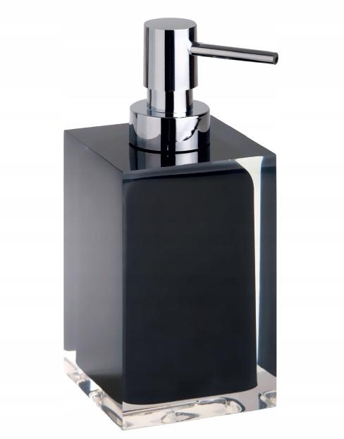 BEMETA VISTA čierny samostatne stojaci dávkovač mydla