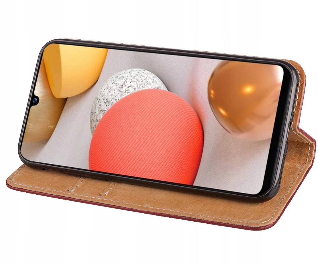 Etui do Samsung Galaxy A42 5G Skórzane Case +Szkło Kod producenta E40