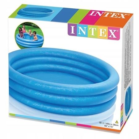 Бассейн надувной INTEX детский бассейн САДОВЫЙ