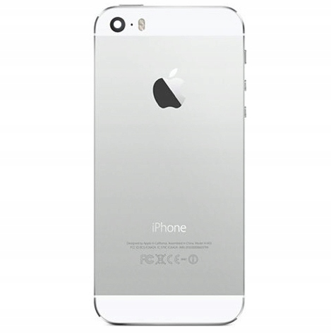 Apple iPhone 5S Obudowa Tylna Korpus Silver