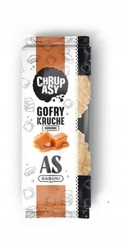 Вафли Crunchy Caramel 145г FIT Snack