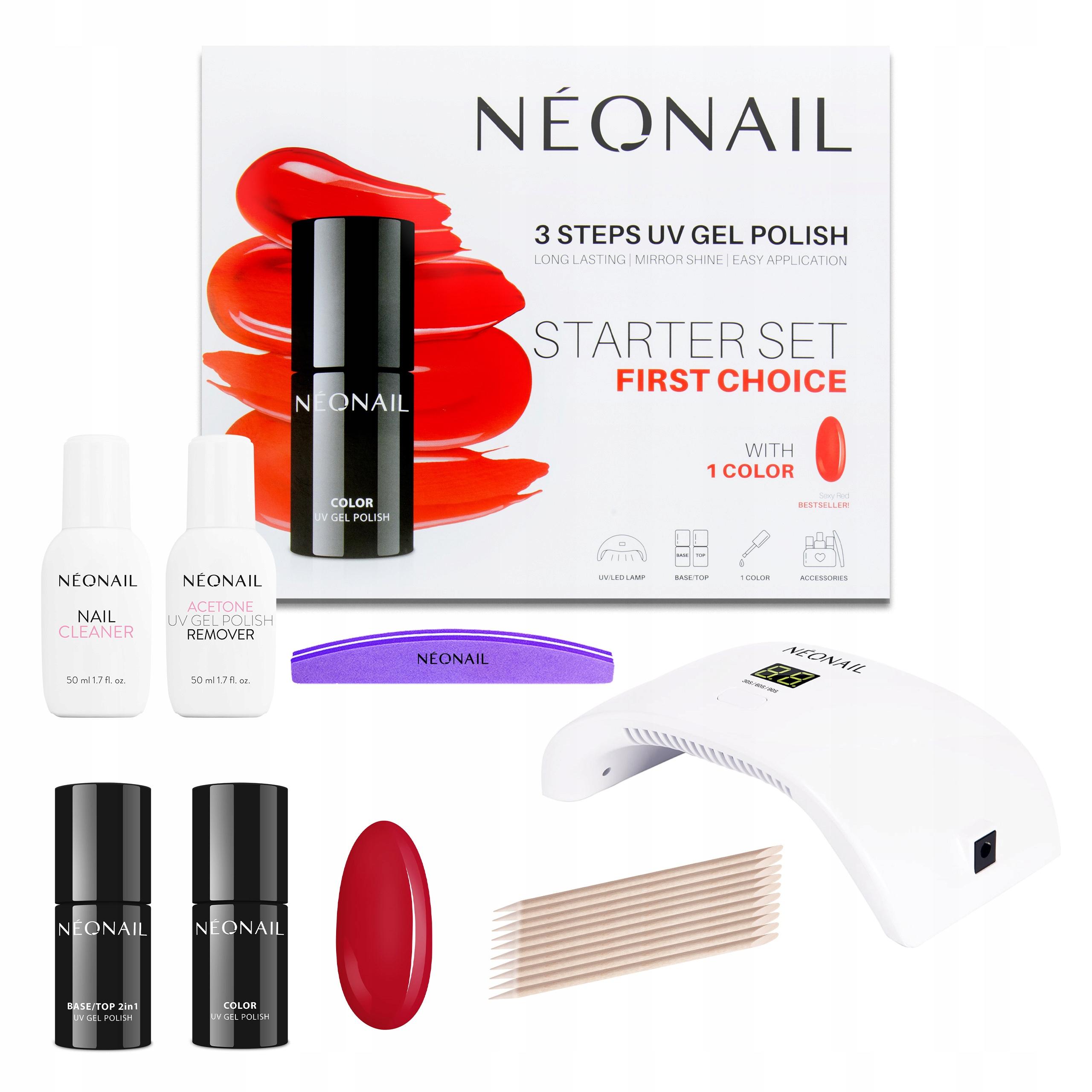 Купить NEONAIL FIRST CHOICE Стартовый набор на Otpravka - цены и фото - доставка из Польши и стран Европы в Украину.