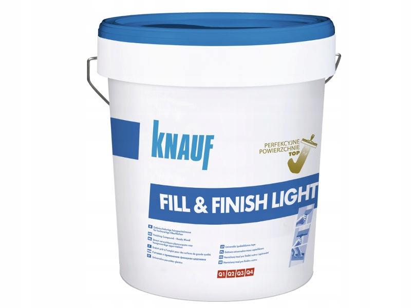 KNAUF Fill Finish Light masa szpachlowa płyta gk
