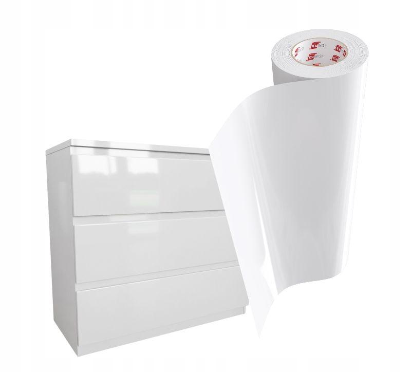 Фольга Мебельный Шпон 50x100см WHITE GLOSS