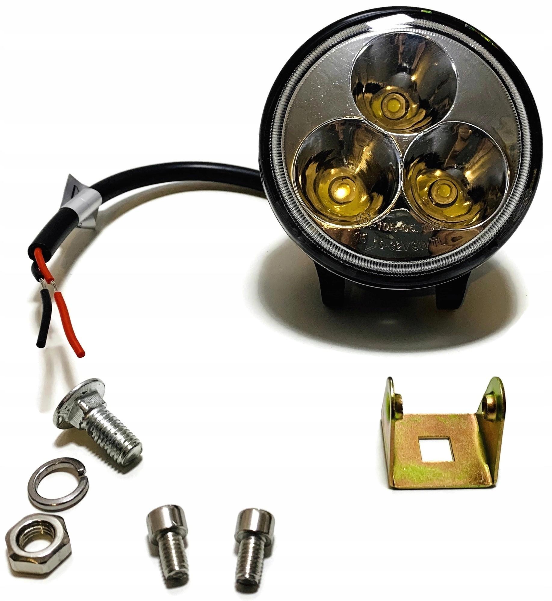 лампа многофункциональная 3 led маленькая прожектора 12v 24v
