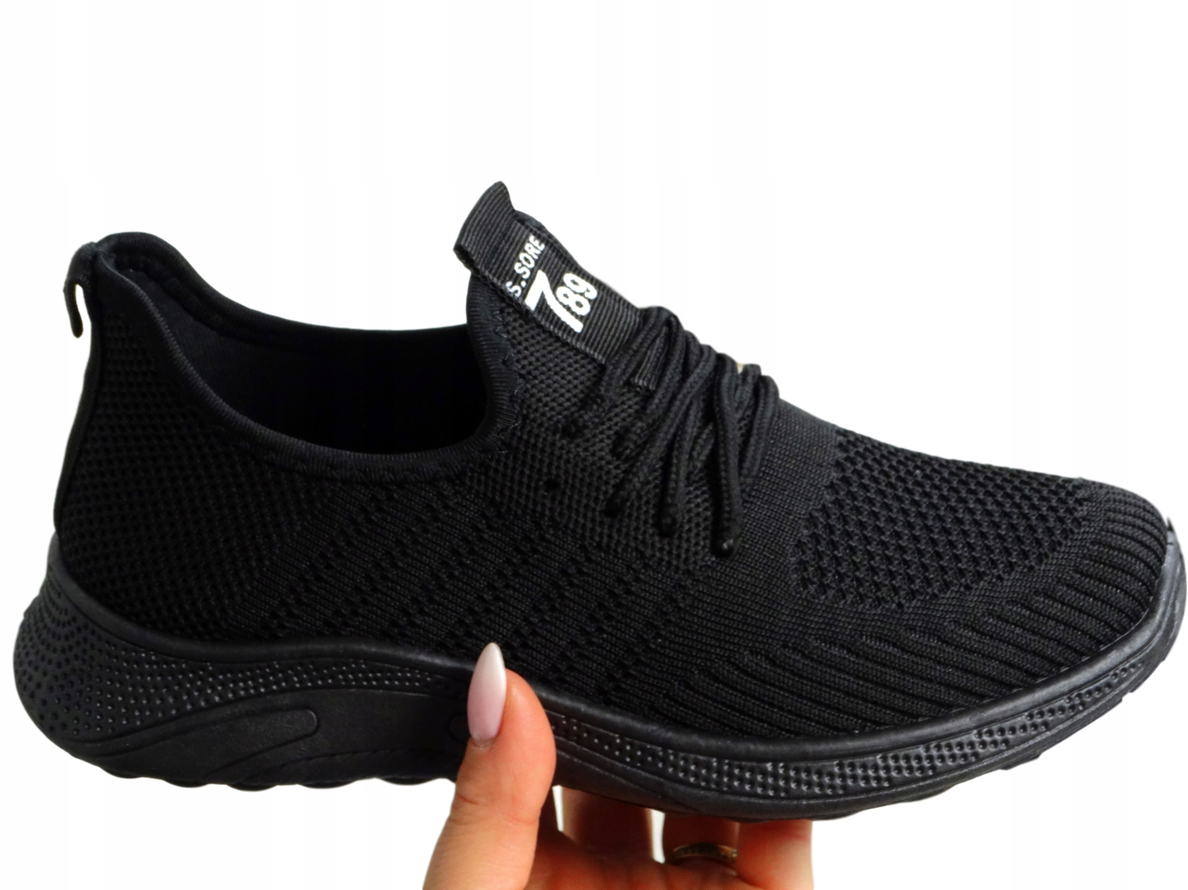 Кроссовки ADIDASY SPORTS SHOES ALL BLACK