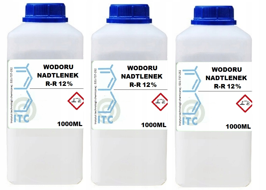 перекись водорода 12 3 x 1000 мл ITC SMART