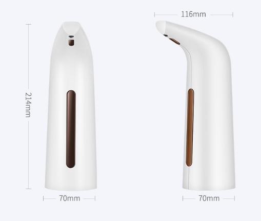 Automatický dávkovač mydla a tekutín 400ml HIT!