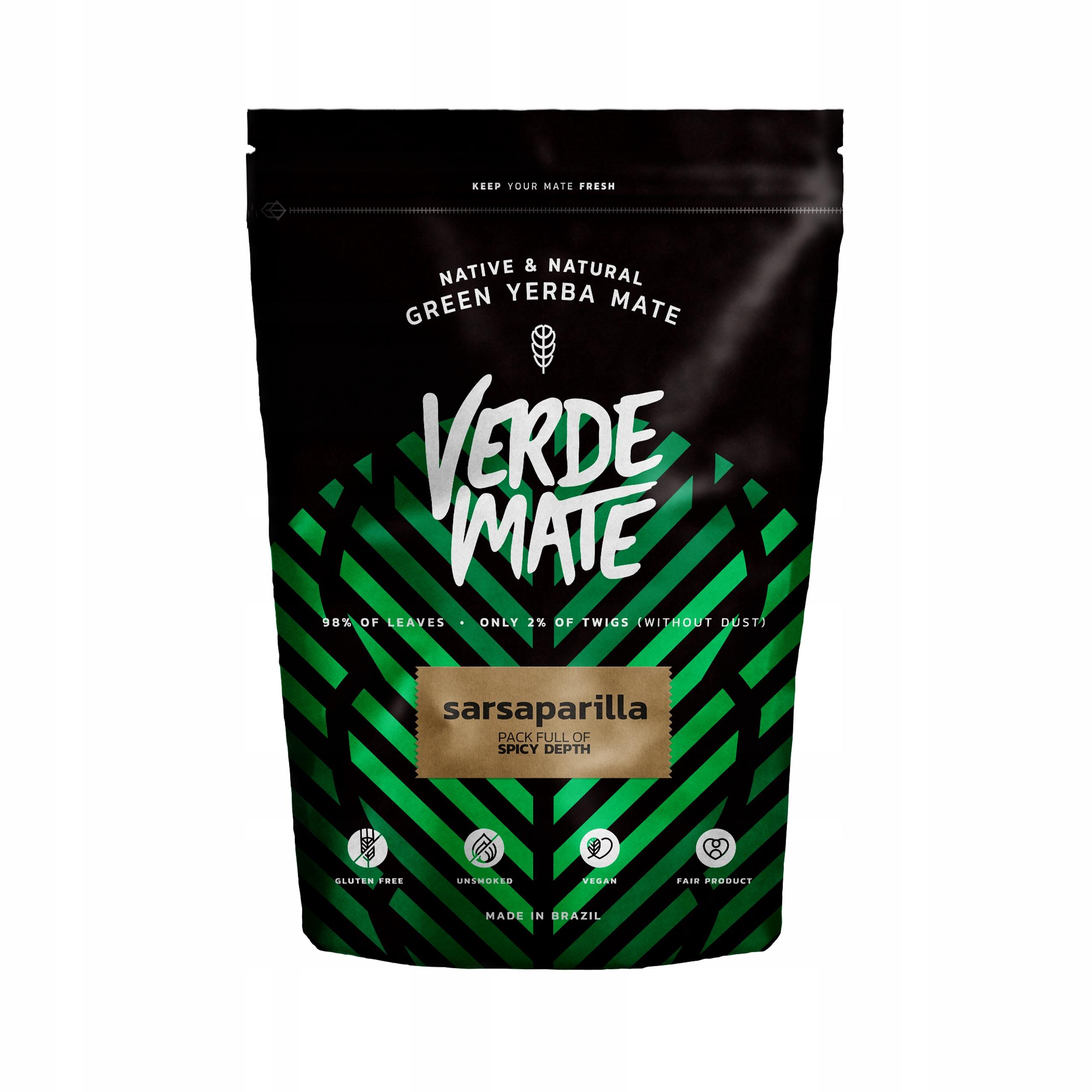 Yerba Verde Mate Green MEGA MOC Sarsaparilla 0,5kg
