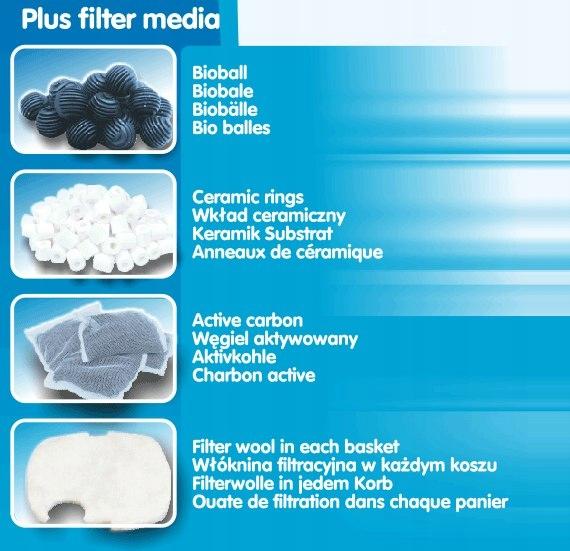 Емкость 1000 л/ч фильтра ведра аквариума на открытом воздухе КЛАРОН 01 максимальная