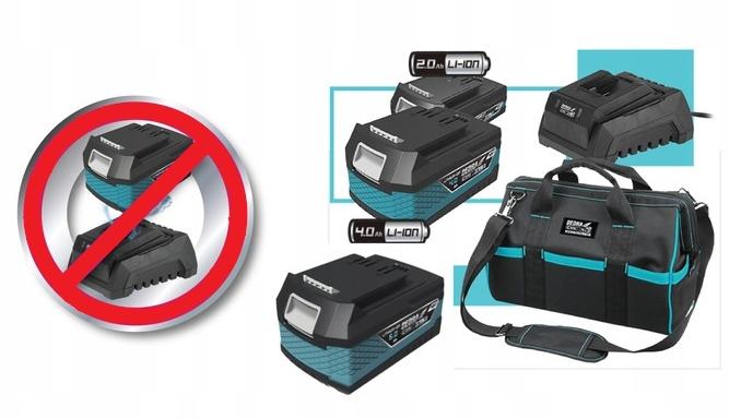 Odkurzacz Walizkowy Akumulatorowy Dedra SAS+ALL Seria SAS+ALL