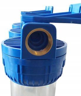 3-STOPNIOWY FILTR WODY: PIANKA+WĘGIEL+ODŻELAZIACZ Kod produktu Filtr potrójny Pianka + Carbon + Odżelaziający