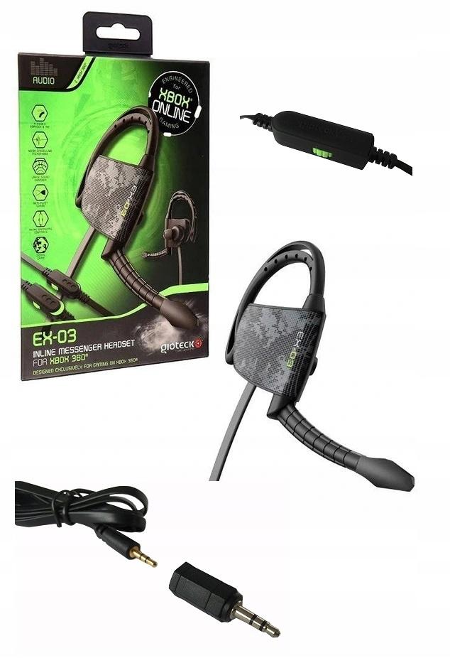 Headset Ex-03 Headset s mikrofónom ps4 xone PC