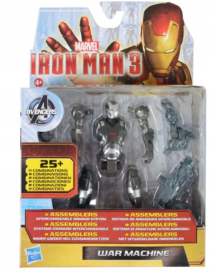 HASBRO IRON MAN 3 WAR MACHINE FIGURKA ASSEMBLERS Bohater Avengers