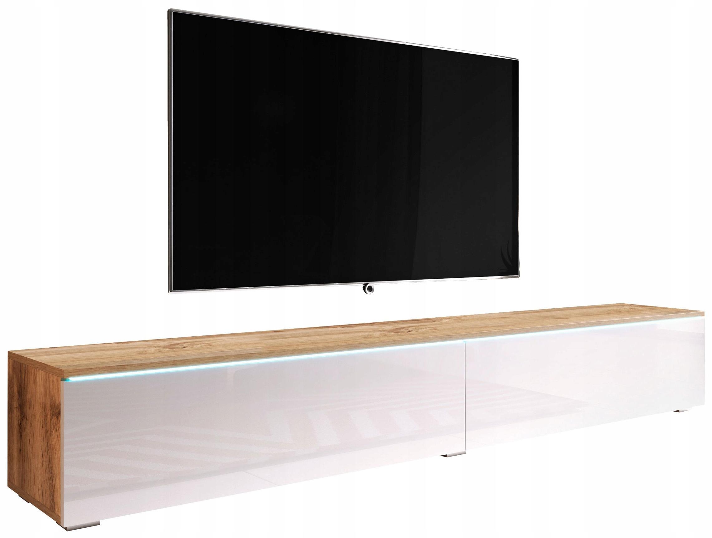 Nowoczesna szafka RTV 180cm wisząca lub stojąca