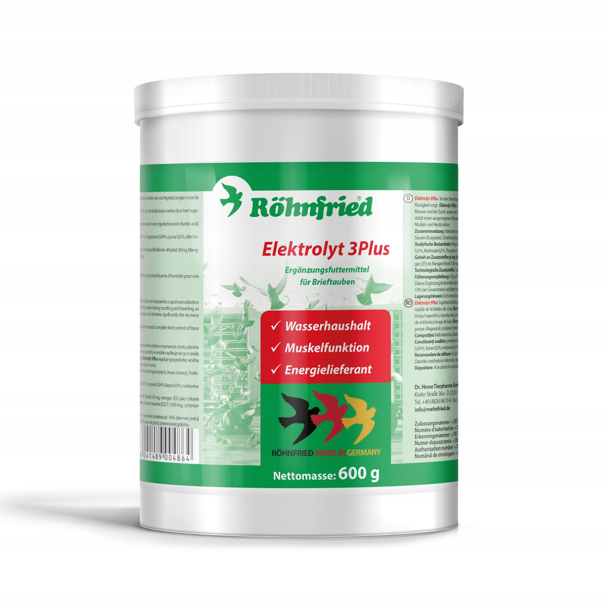 Rohnfried - Elektrolyt 3Plus - 600 г (электролит)