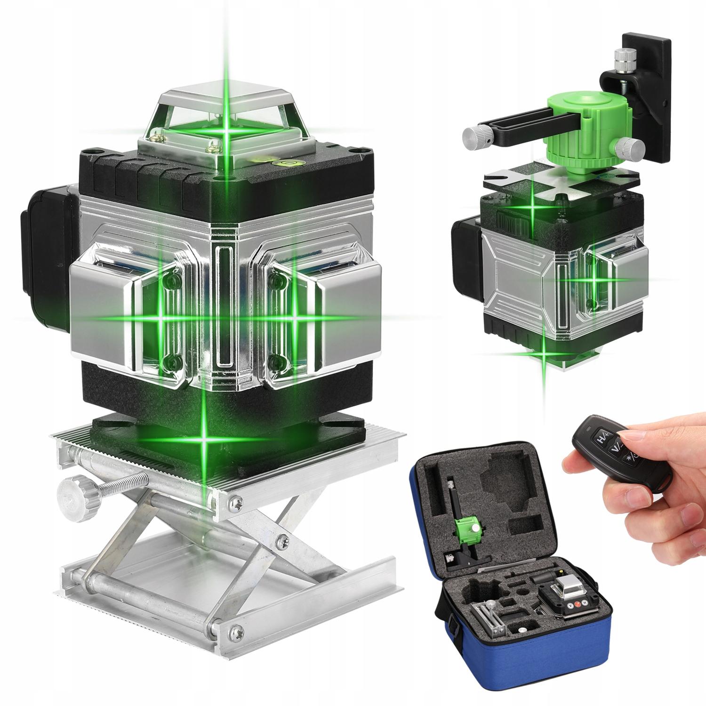 16-liniowy poziomica laserowa 3D 360 °