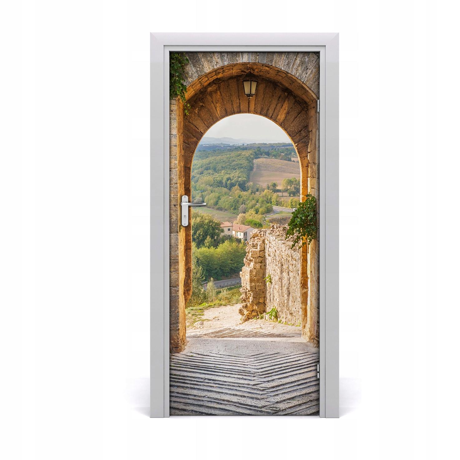 Fototapeta samoprzylepna na drzwi Toskania Włochy