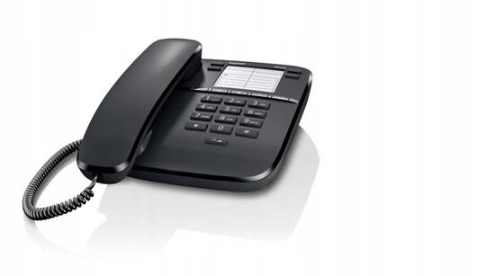 Купить Siemens Gigaset DA310 проводной телефон черный на Otpravka - цены и фото - доставка из Польши и стран Европы в Украину.