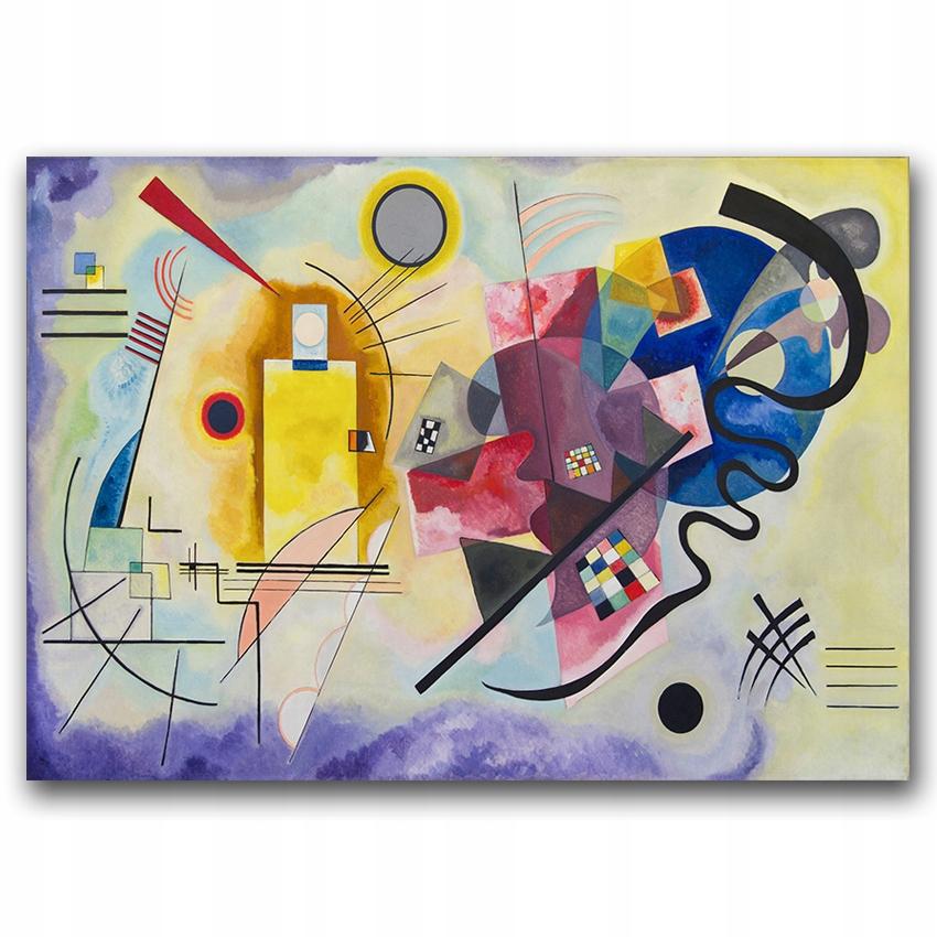 Abstraktný retro plagát Wassily Kandinsky A1 85x60