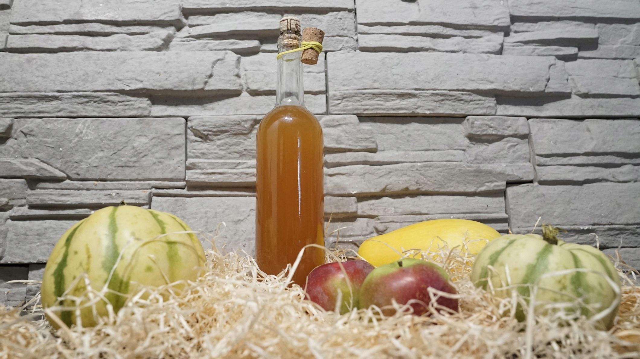 2x ocet jabłkowy długodojrzewający mętny ŻYWY 0,7