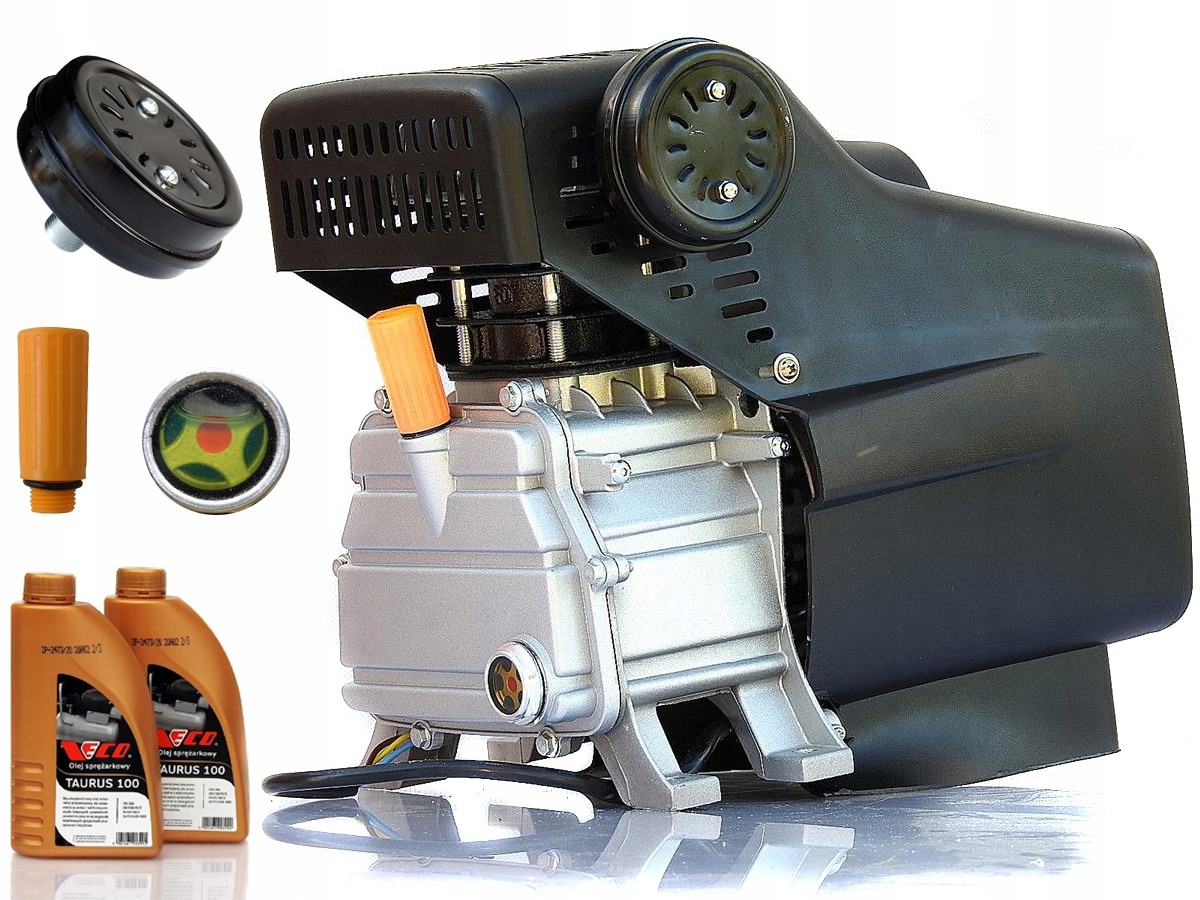 SPRĘŻARKA Zs38 kompresor olejowy pompa + SILNIK