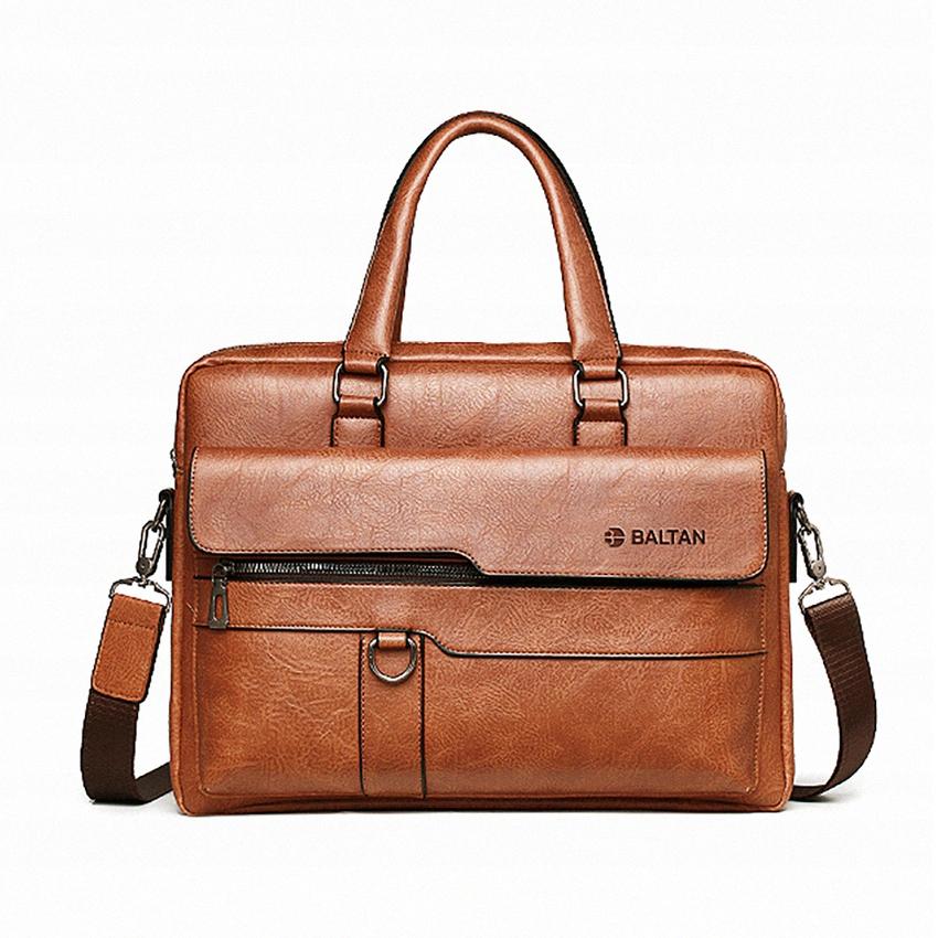 Купить Портфель мужская сумка через плечо Baltan из экокожи на Otpravka - цены и фото - доставка из Польши и стран Европы в Украину.
