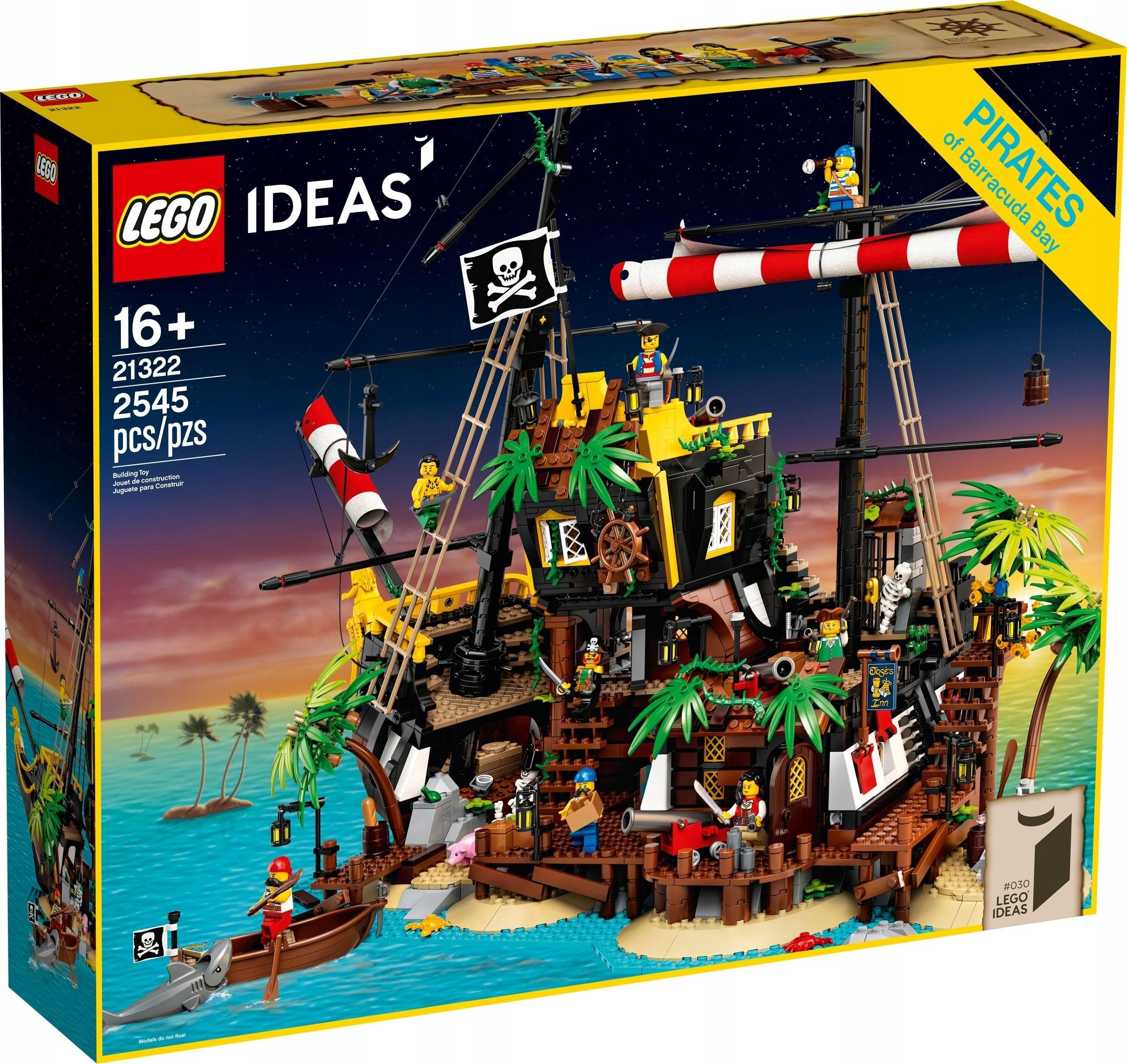 LEGO Ideas Piraci z Zatoki Barakud 21322