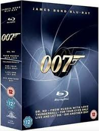 JAMES BOND DR NO  FROM RUSSIA WITH LOVE  THUND