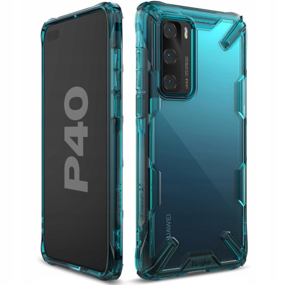 Etui do Huawei P40, Ringke Fusion X, case, obudowa