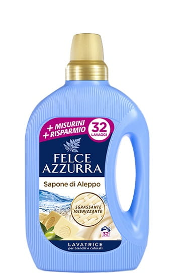 Felce Azzurra Мыло Алеппо Жидкость для стирки 32p
